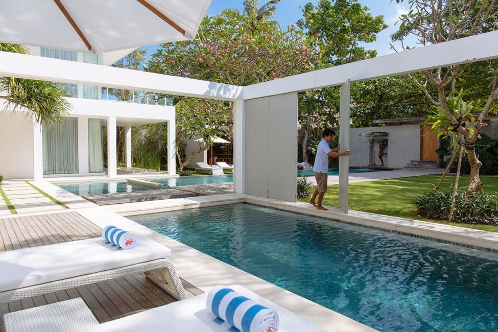 2. Villa Canggu Joining villas North and South