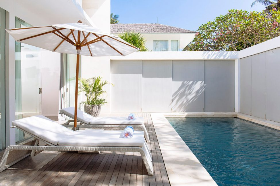 3. Villa Canggu Villa North poolside