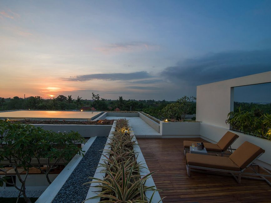 25. Villa Iman Superb sunsets from the roof terrace