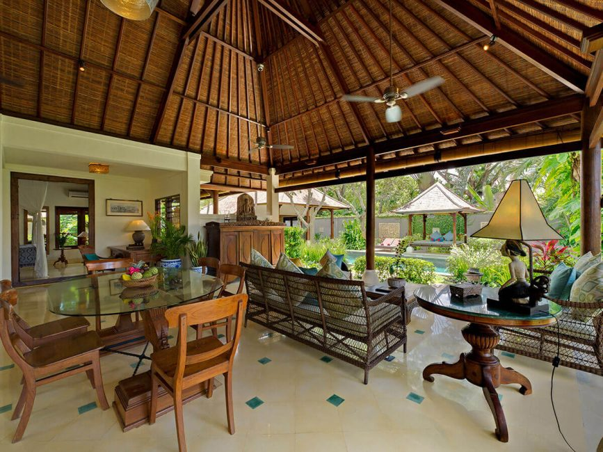 4. Villa Kedidi Living and dining