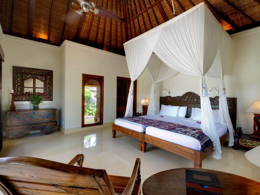 9. Villa Kedidi Guest bedroom 2 (twin)